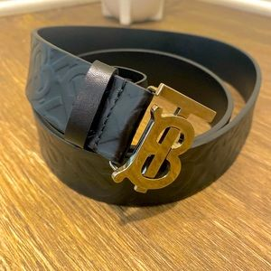 Burberry Monogram Belt